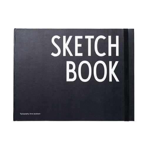 Notizbuch Scetch-Book von Design Letters