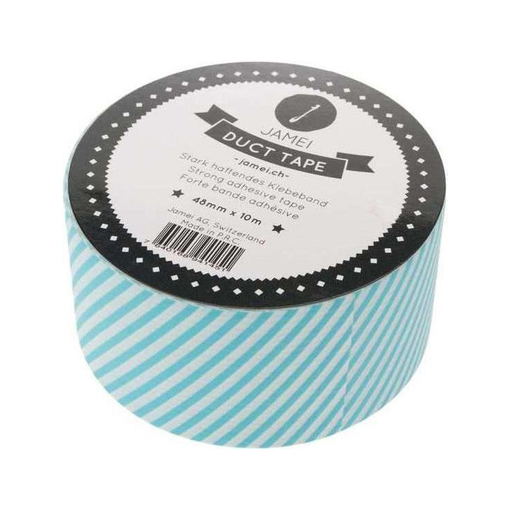 "Klebeband - Duct Tape Washi Tape ""Stripes Mint"" von Jamei"