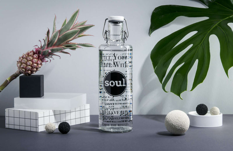 "Trinkflasche ""Life with Soul"""