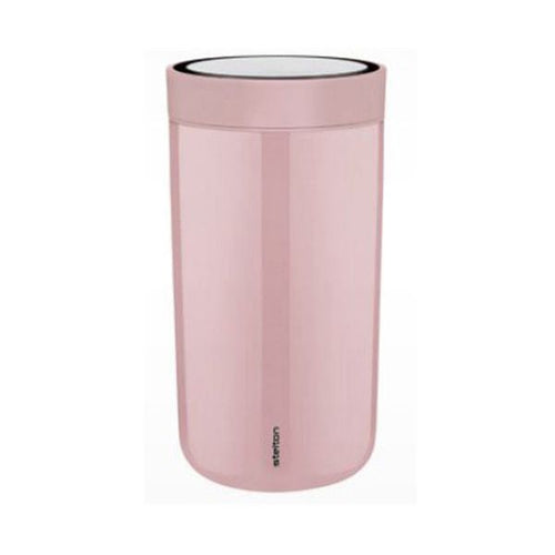 Thermobecher To Go Click von Stelton pink
