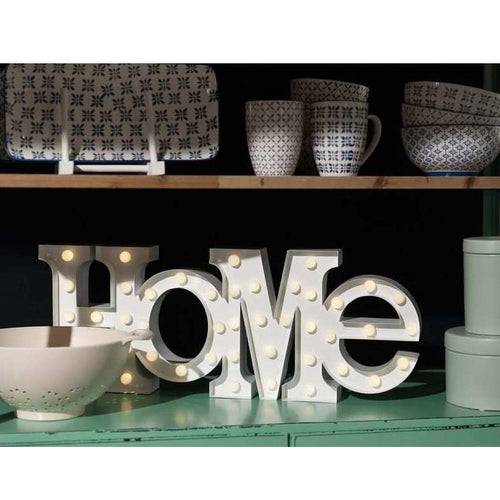 Home Leuchttafel metall led von Vegas Lights mood vintage