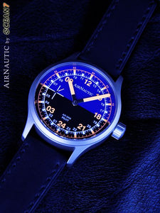AirNautic AN-24M Manual Wind Pilot Watch