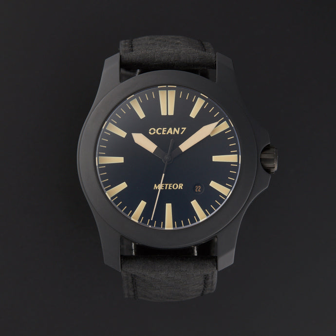 OCEAN7 Meteor Ceramic LM-4 V2 (Orange, Vintage, or Black Lume)
