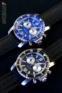 LM-5CQ Quartz Chronograph with Domed Sapphire Bezel CLEARANCE!