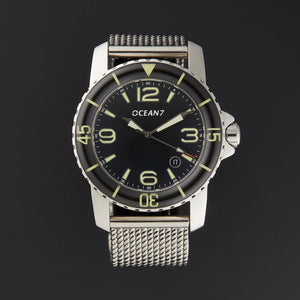 LM-5 Dress Diver with Domed Sapphire Bezel