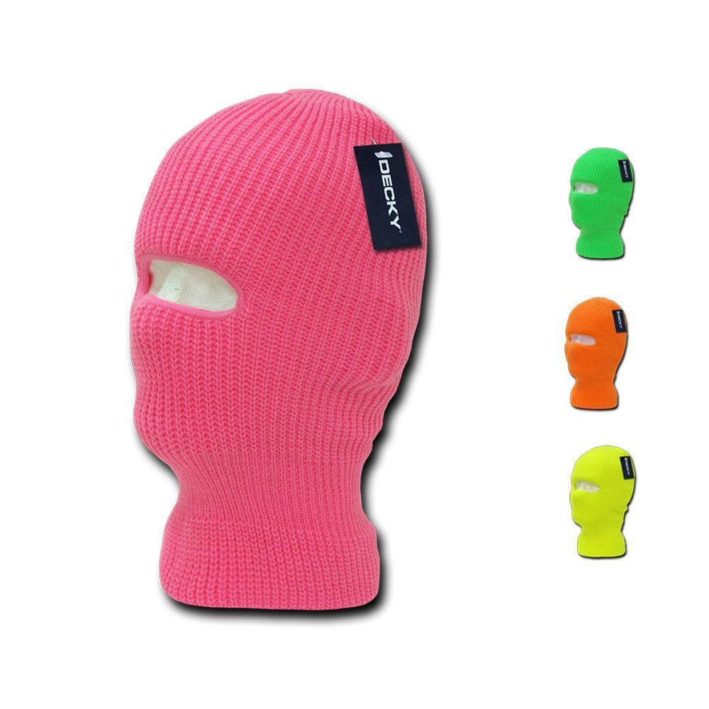 7be254f663d 1 Dozen Beanies Neon Youth Ski Face Mask Boys Girls Kids Wholesale Lot Bulk