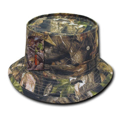 1 Dozen Decky Hybricam Camo Cotton Sweatband Fisherman Bucket Hats Wholesale Lot