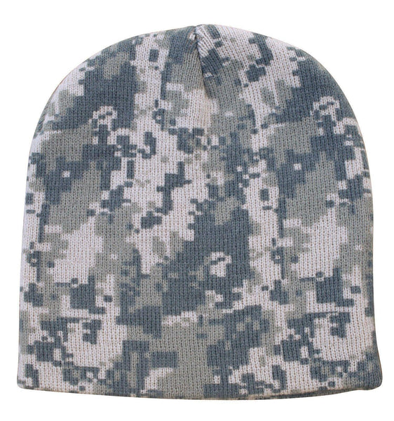 03e0f8c8fbbbc5 1 Dozen Grey Pixel Camo Camouflage Winter Beanies Hats Caps Wholesale –  Serve The Flag