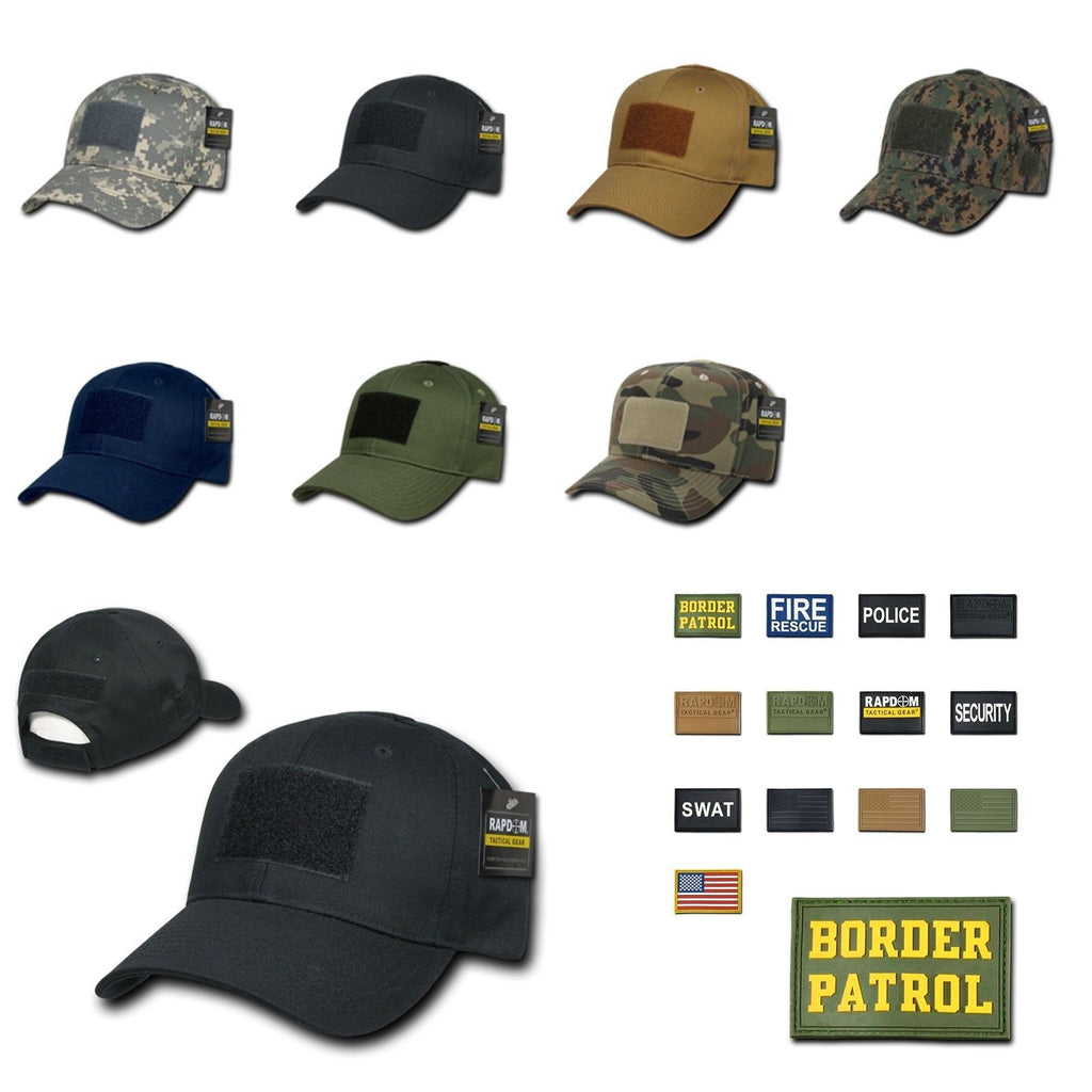 1 Dozen Tactical Operator Contractor Military Caps Hats With Patch Wholesale Lots