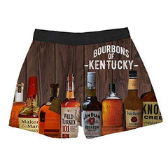 Brief Insanity Bourbons of Kentucky Silky Funny Boxer Shorts Gifts for Men Women