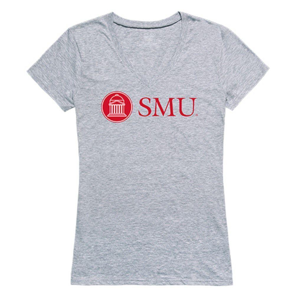 Southern Methodist University Mustangs NCAA Women's Seal Tee T-Shirt