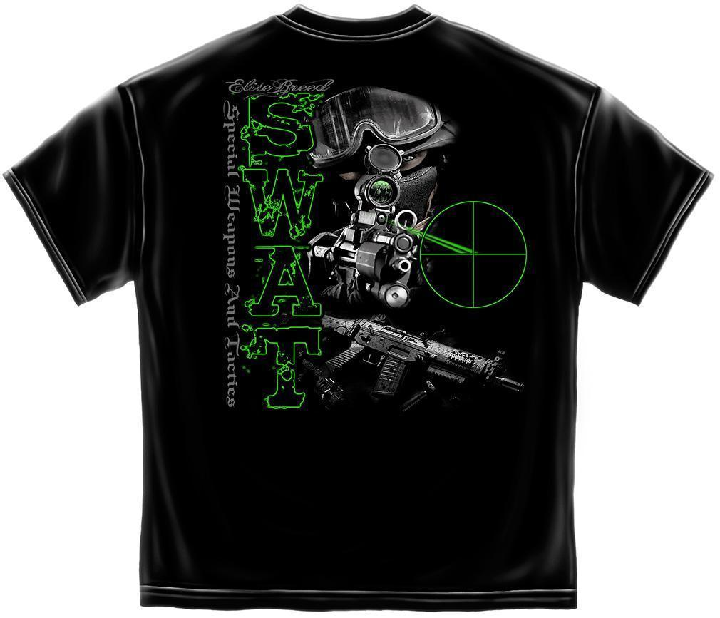 Erazor Bits T-Shirt - Elite Breed - SWAT - Black