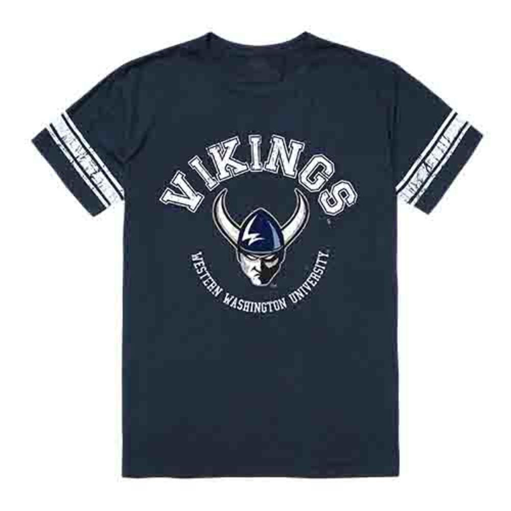 Western Washington University Vikings NCAA Men's Football Tee T-Shirt
