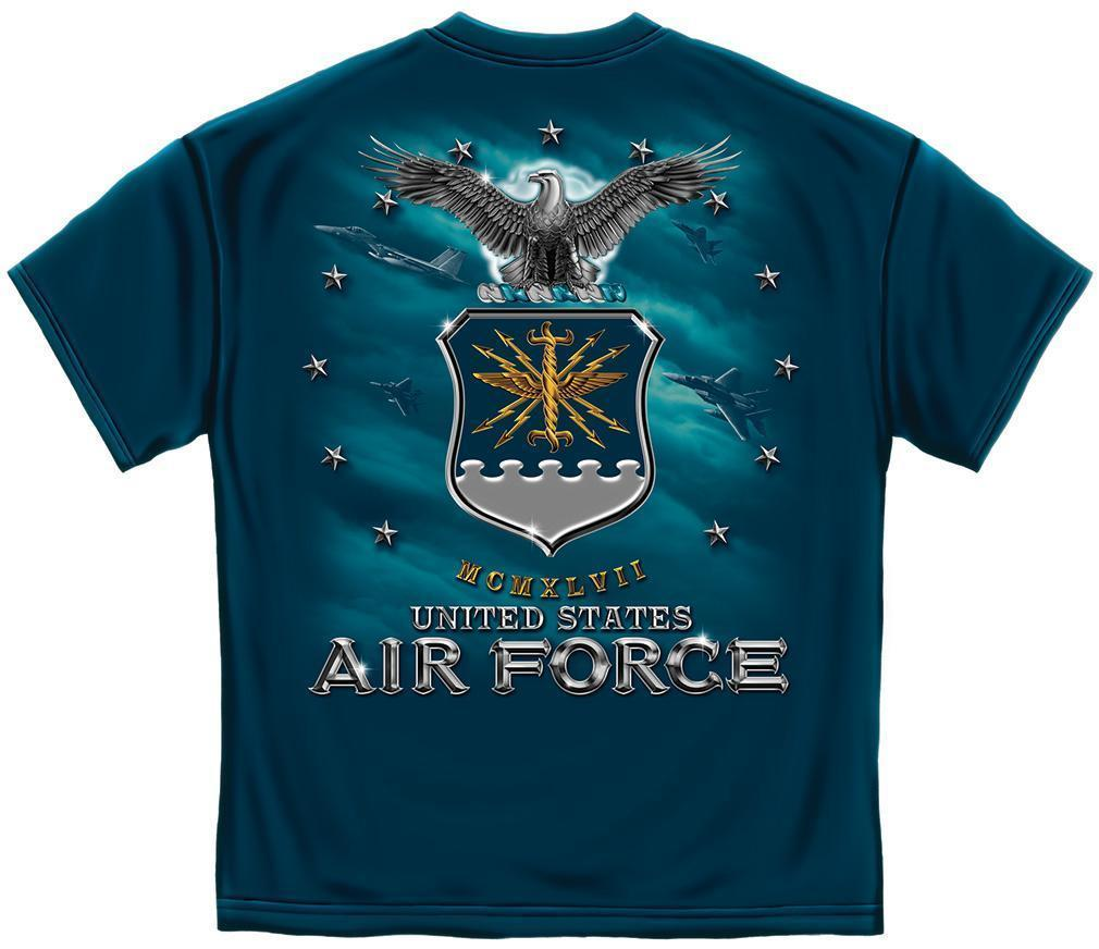 Erazor Bits T-Shirt - United States Air Force  - USAF Missile  - Navy