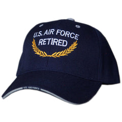US Honor Official Embroidered Retired U.S. Air Force Baseball Caps Hats