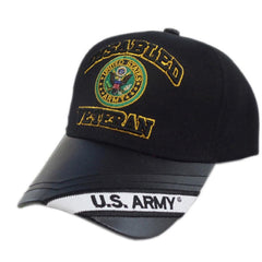 US Honor Embroidered Official Veteran Disabled Army Round Baseball Caps Hats