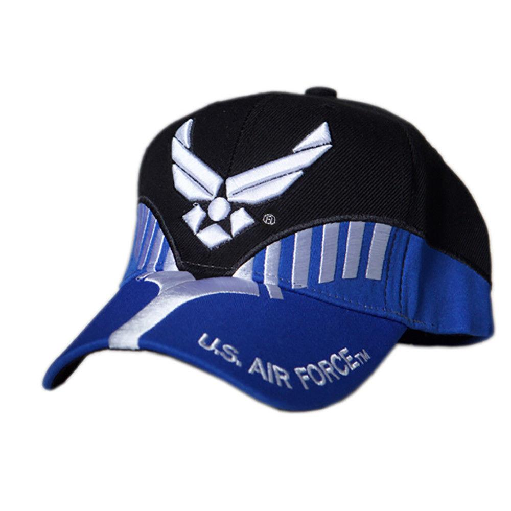US Honor Official Embroidered Heritage Air Force Baseball Caps Hats