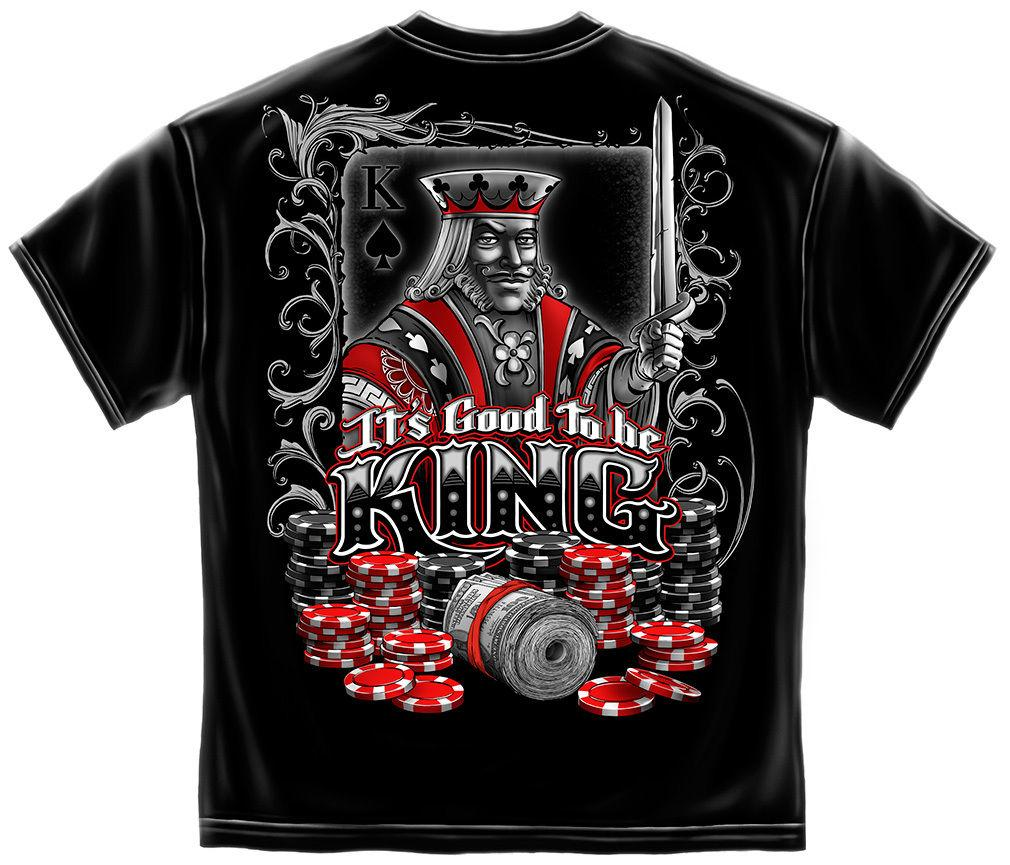 Erazor Bits T-Shirt - Good To Be King - Black