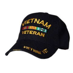 US Honor 3D Embroidered Veteran Vietnam Bar 1960 Baseball Caps Hats