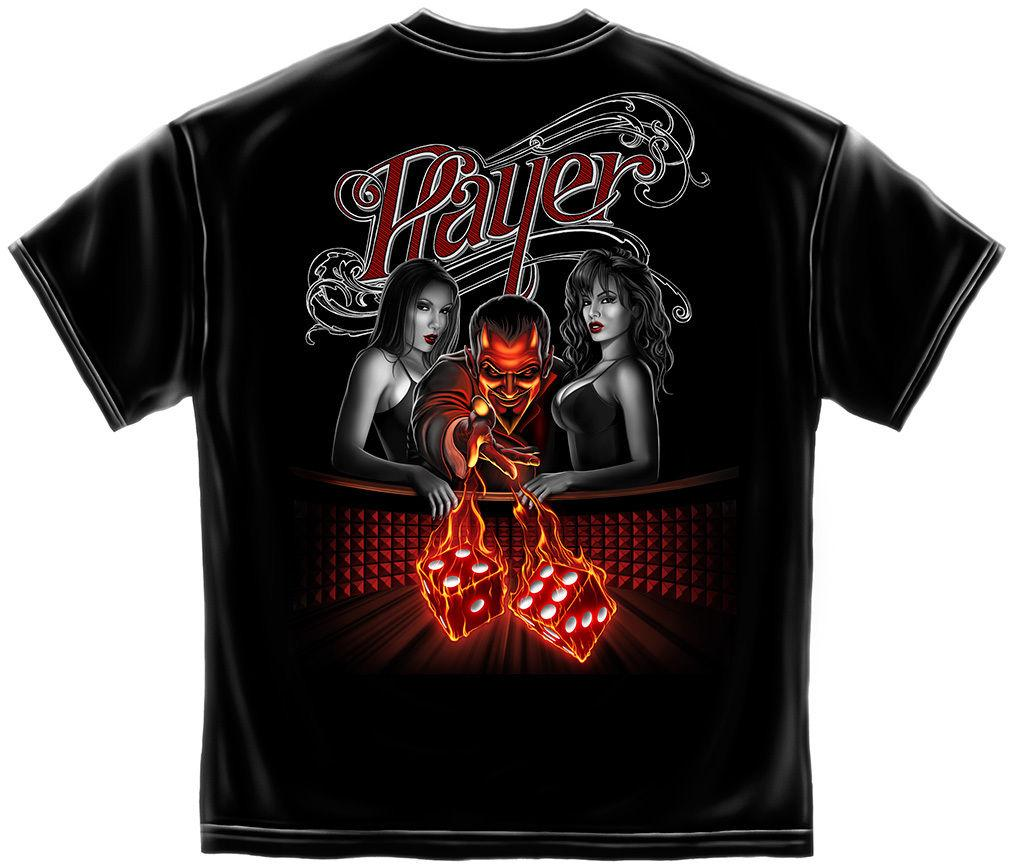 Erazor Bits T-Shirt - Player Devil Shirt - Black