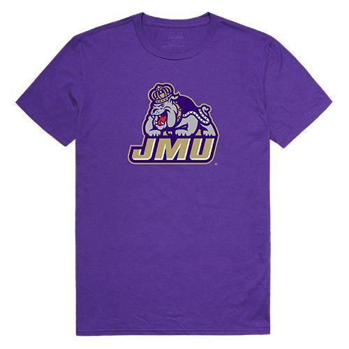 James Madison University Foundation Dukes NCAA Freshman Tee T-Shirt Purple