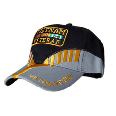 US Honor Embroidered Heritage Vietnam Veteran Baseball Caps Hats