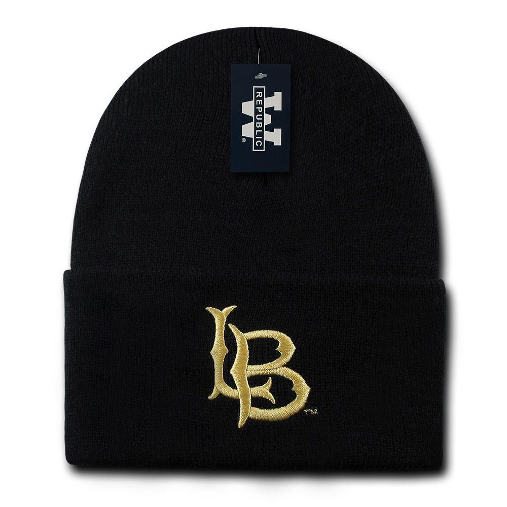 The Trainer Beanies, Long Beach University, Black