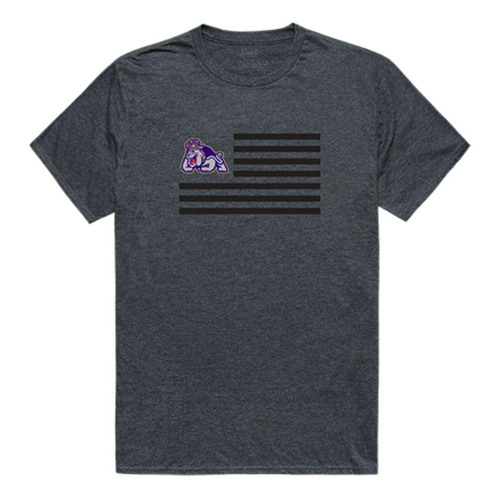 James Madison University Foundation Dukes NCAA Flag Tee T-Shirt