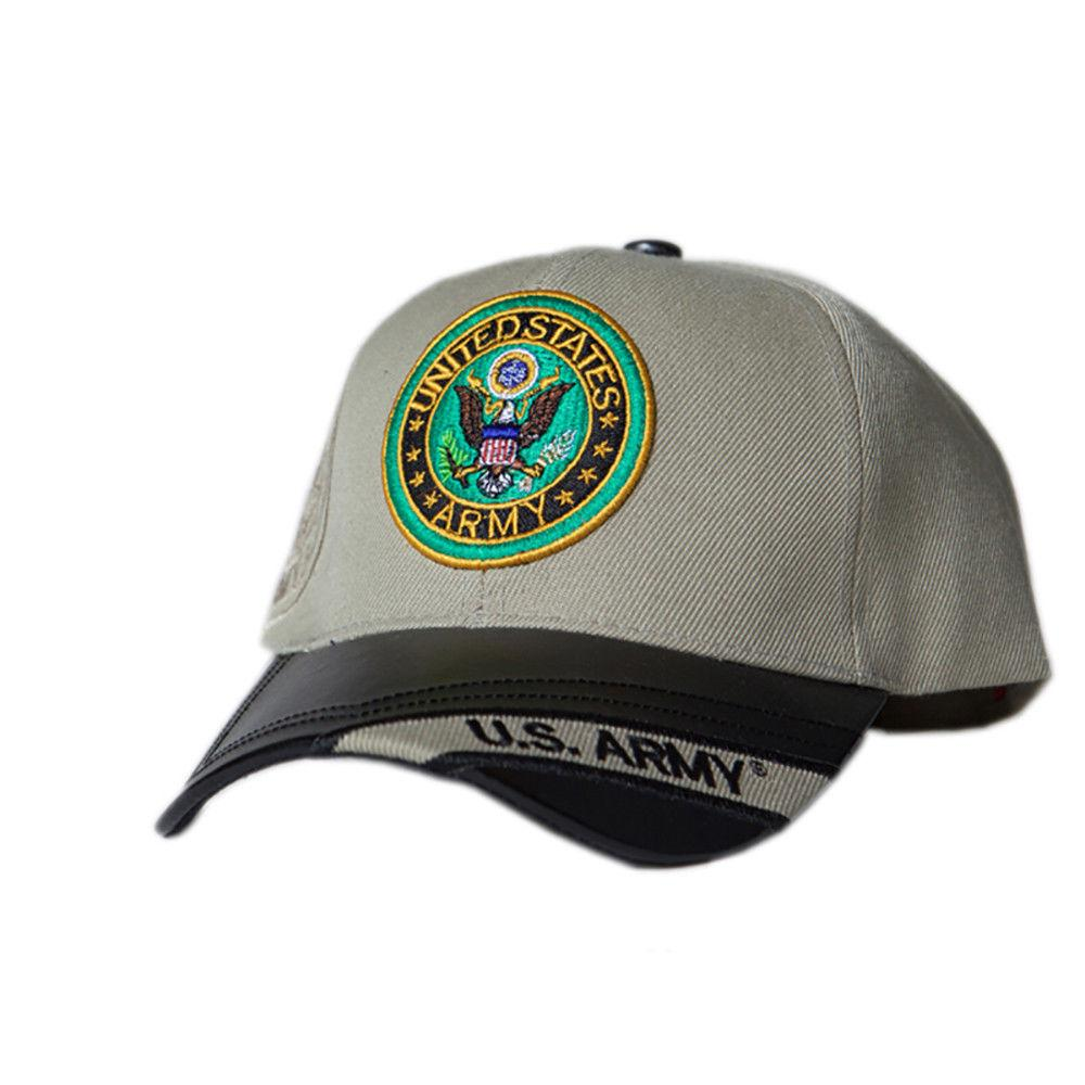 US Honor Official Embroidered Two Tone Army Logo Baseball Caps Hats