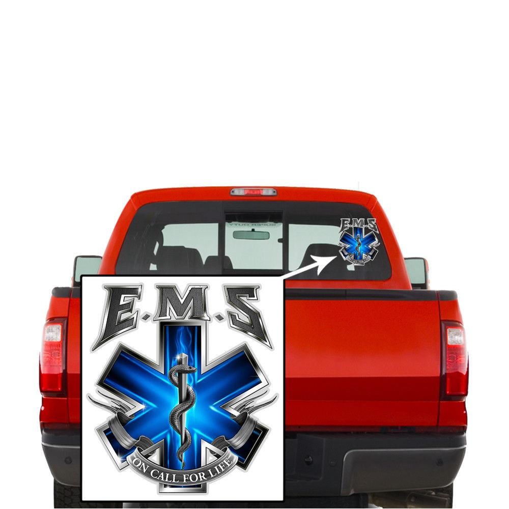 Erazor Bits Decal EMS - On Call For Life- Emergency Medical Services Stickers