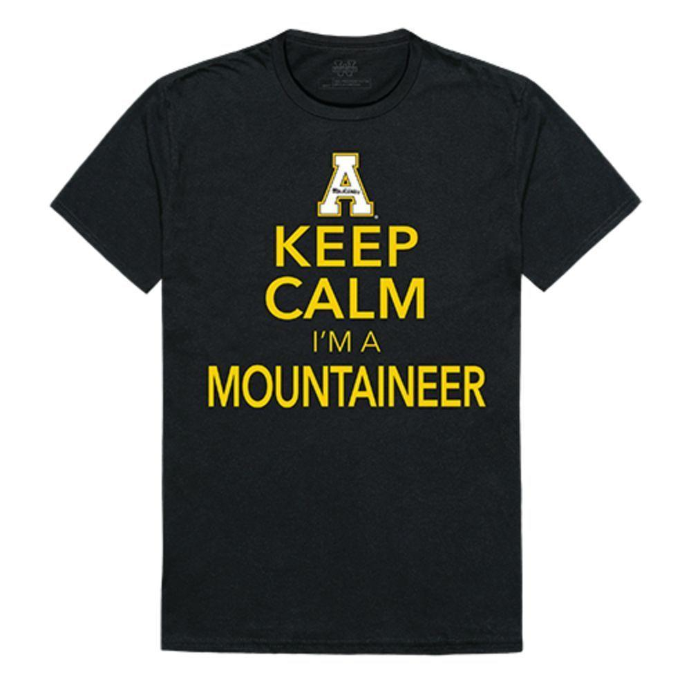 Appalachian State University Mountaineers NCAA Keep Calm Tee T-Shirt