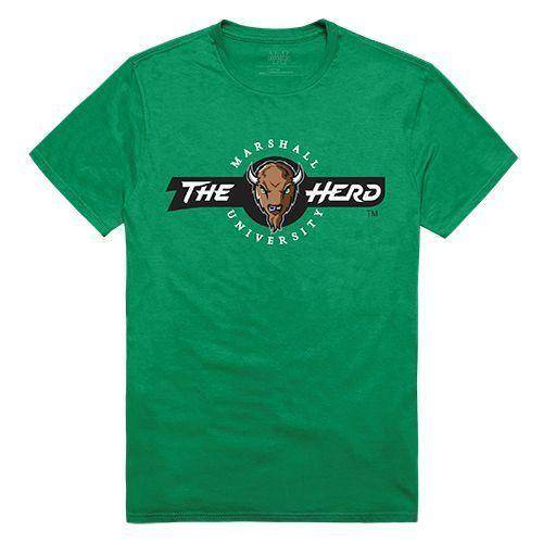 Marshall University Thundering Herd NCAA Freshman Tee T-Shirt Kelly