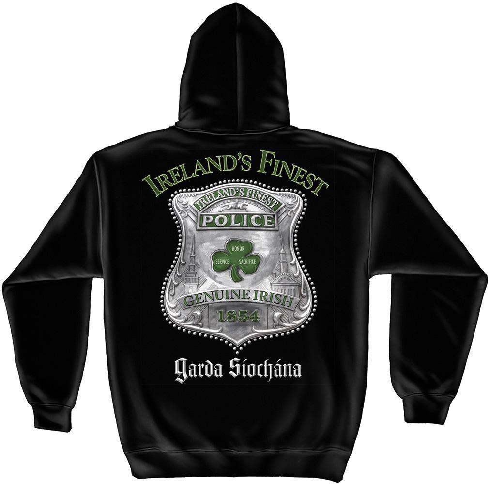 Erazor Bits Sweatshirt Hoodie- FireFighter - Ireland's Finest Fire Fighter Garda