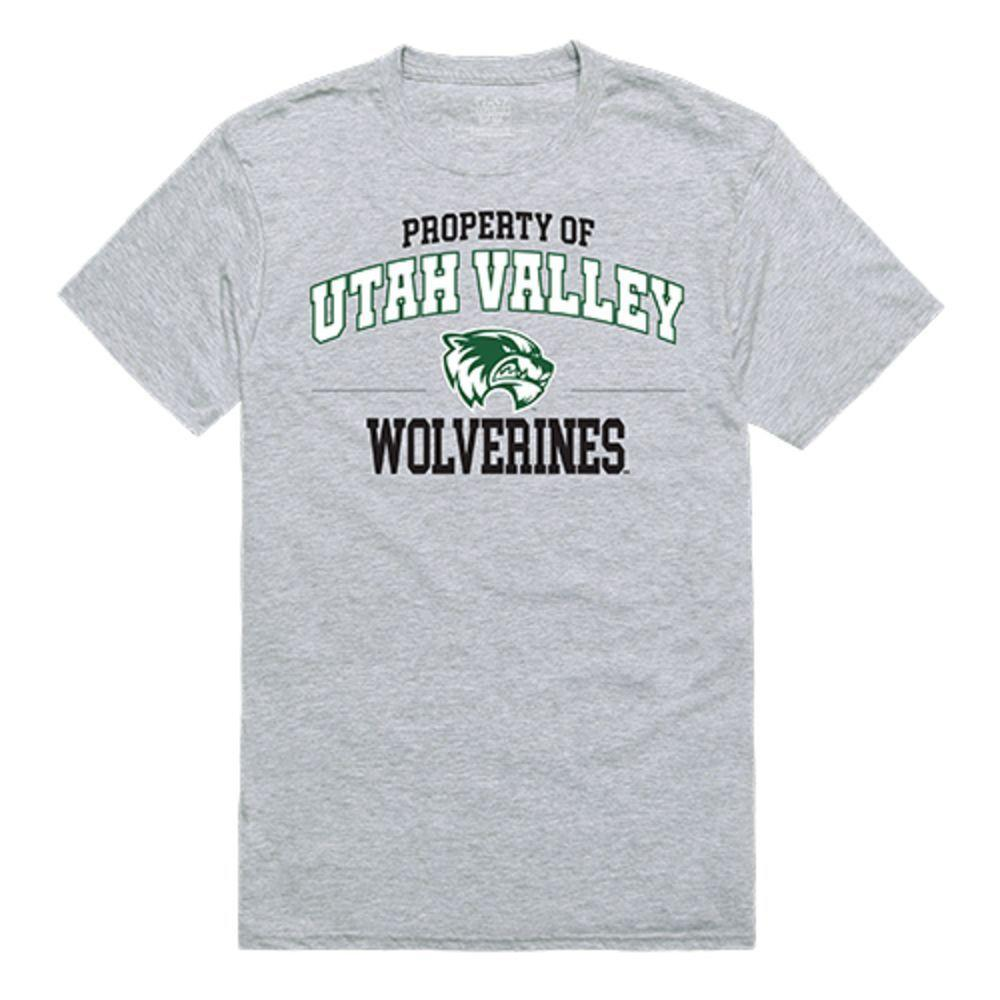 Utah Valley University Wolverines NCAA Property of Tee T-Shirt