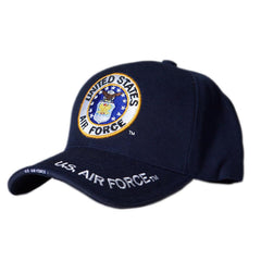 US Honor Official US Air Force Round Logo Embroidered Baseball Caps Hats