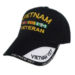 US Honor Embroidered Shadow Vietnam Veteran Baseball Caps Hats