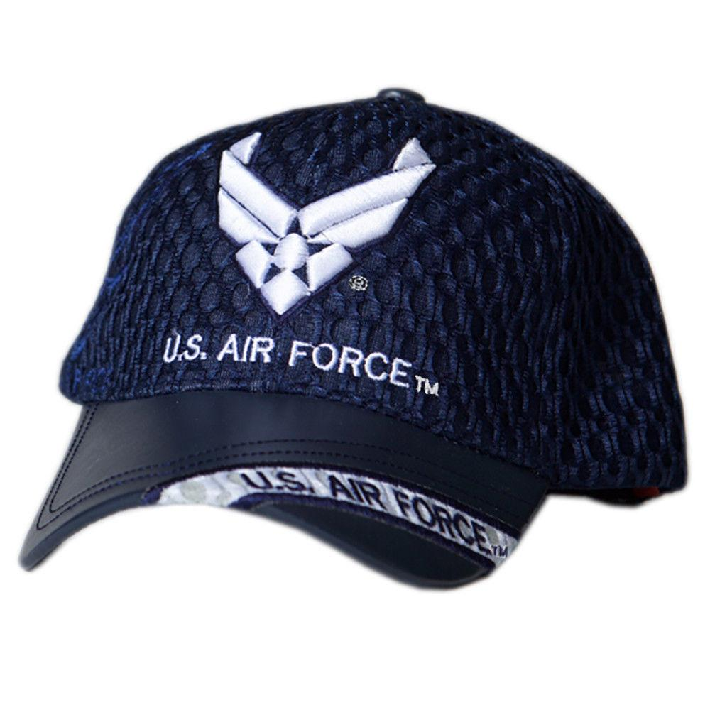 US Honor Official Embroidered Air Flow Air Force Wing Logo Baseball Caps Hats
