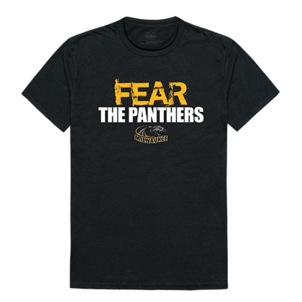 University of Wisconsin Milwaukee Panthers NCAA Fear Tee T-Shirt