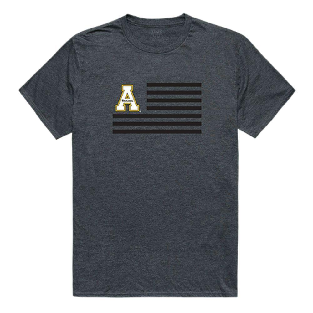 Appalachian State University Mountaineers NCAA Flag Tee T-Shirt