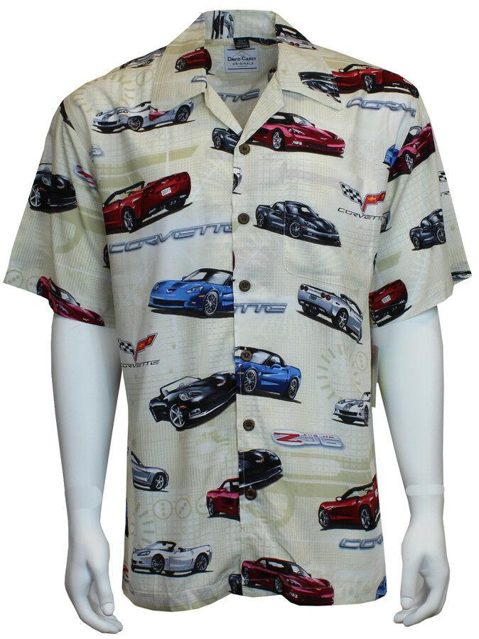 David Carey Classic Corvettes Owners C6 Camp Shirts Vintage Retro Club Work