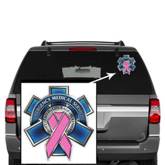 Erazor Bits Emergency Medical Services EMS Race For a Cure Breast Cancer Decal