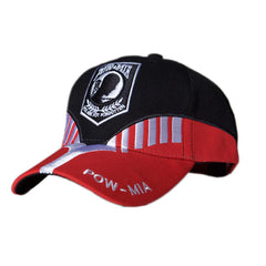 US Honor Embroidered Heritage POW/MIA Baseball Caps Hats