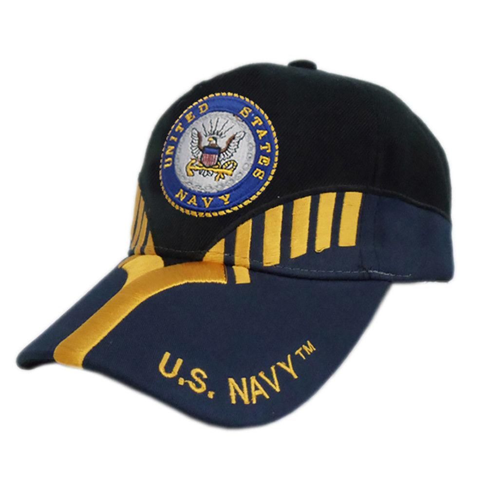 US Honor Official Embroidered Heritage Navy Baseball Caps Hats