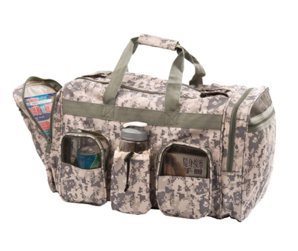 22inch Large Duffle Bags Camo Camouflage Military Army ACU Carry-On Travel