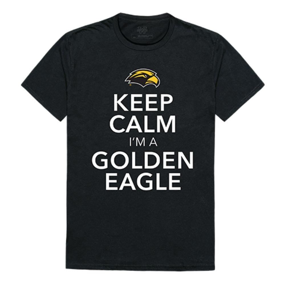 University of Southern Mississippi Golden Eagles NCAA Keep Calm Tee T-Shirt