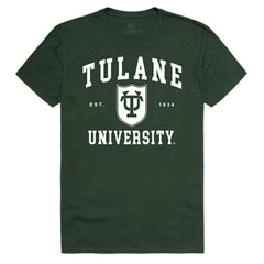 Tulane University Green Wave NCAA Seal Tee T-Shirt