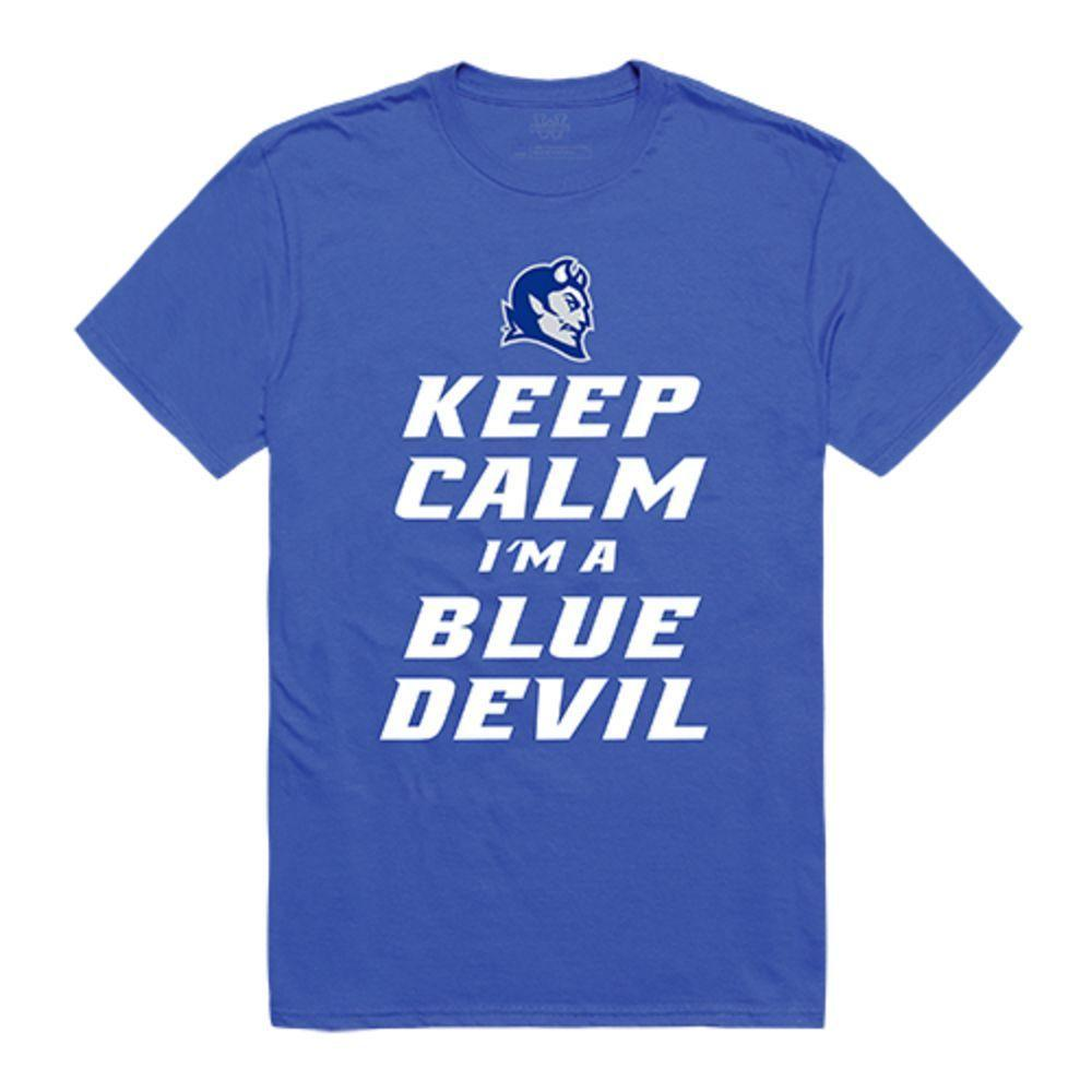 Central Connecticut State University Blue Devils NCAA Keep Calm Tee T-Shirt