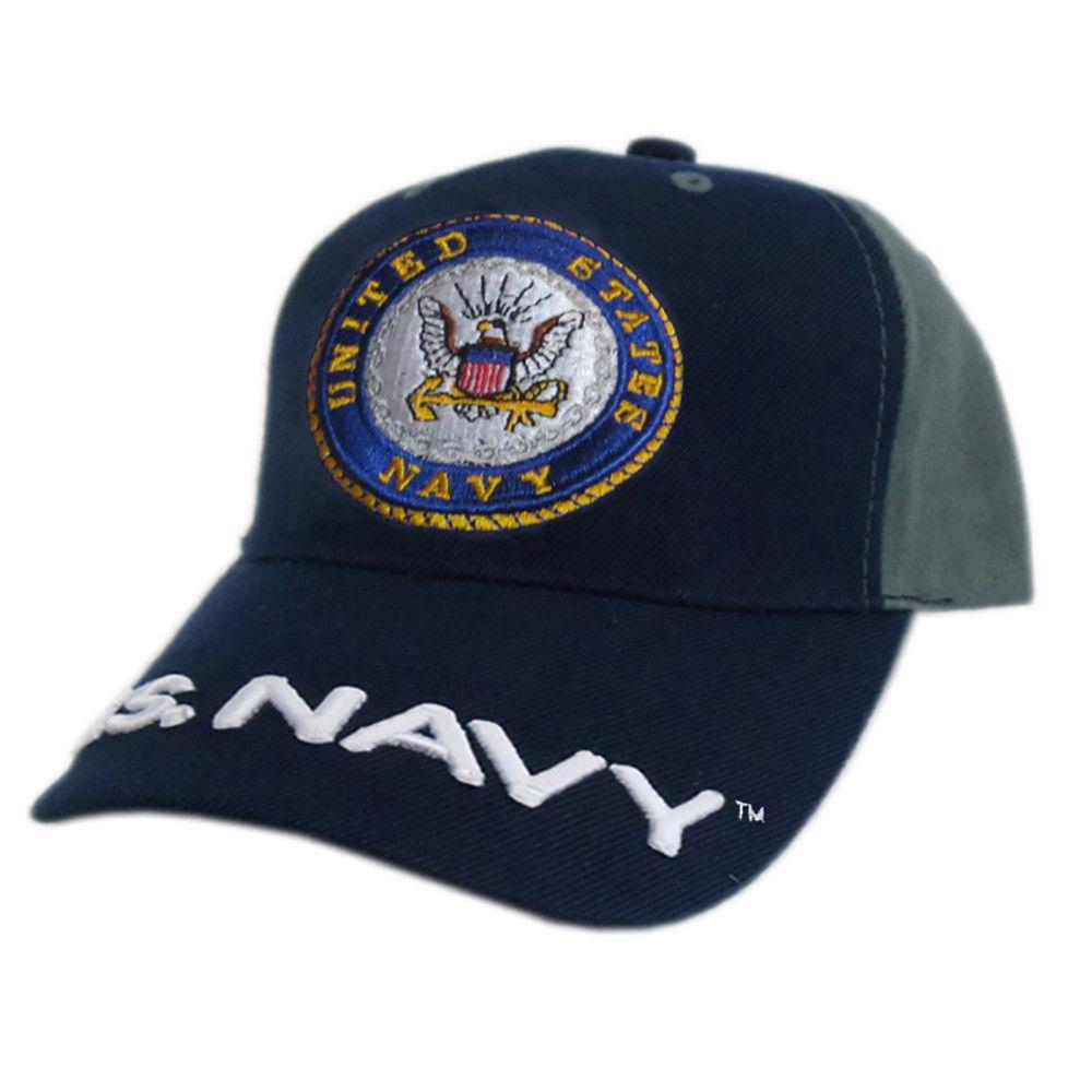 US Honor Official Embroidered Soldier Navy Logo Baseball Caps Hats ... 7d2cf1ee0bc