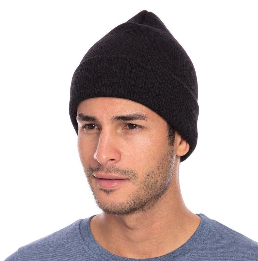 Casaba Warm Winter Beanies Hat Cap for Men Women Toboggan Cuffed Knit Slouch