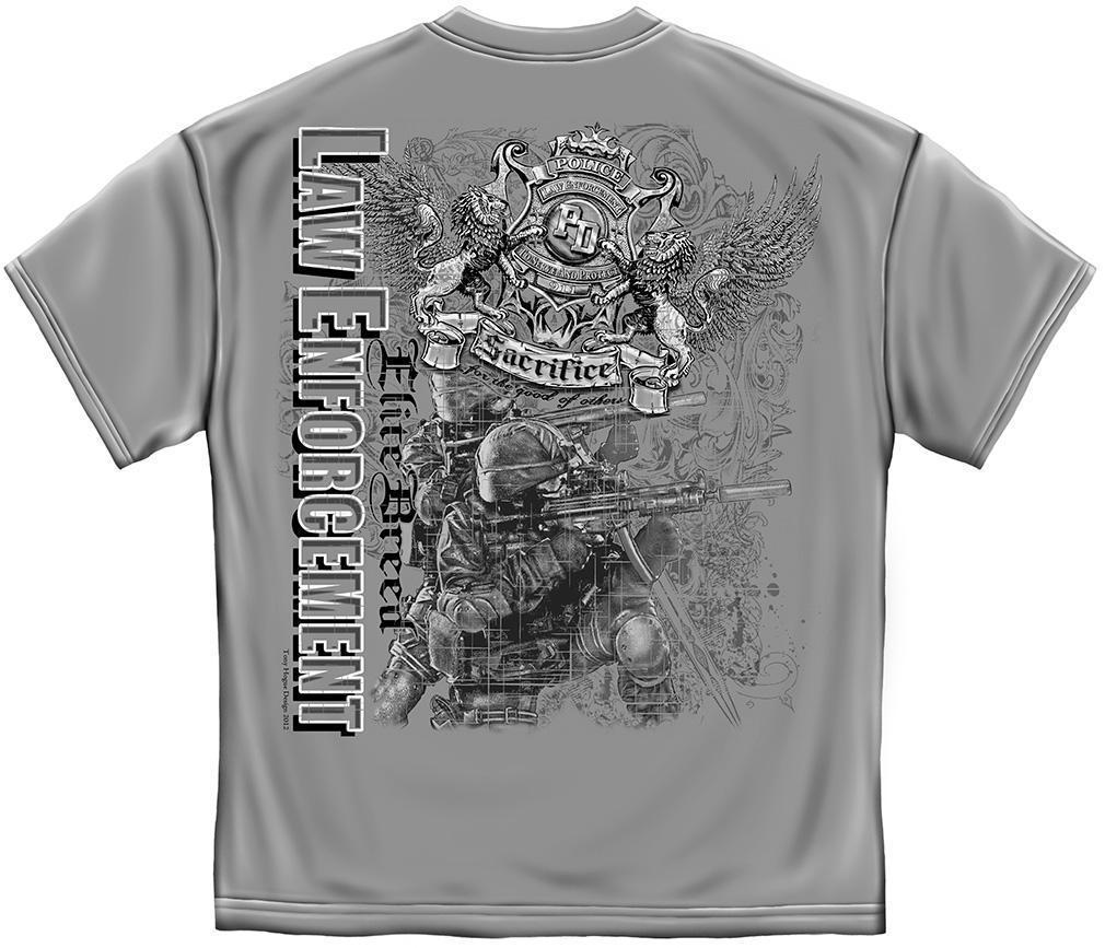 Erazor Bits T-Shirt - Elite Breed - Law Enforcement Sacrifice - For The Good Of